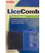 Head Lice Comb Stainless Steel Teeth Removes Lice and Eggs from Hair ~plain env - $12.08