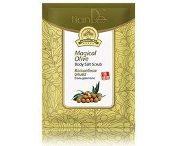 10 packs x TianDe Magical Olive Body Salt Scrub, 60 g.  - $28.61