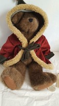 """15"""" PLUSH BOYDS BEAR NORTH STAR JOINTED CLASSIC XMAS INVESTMENT RETIRED ... - $11.36"""