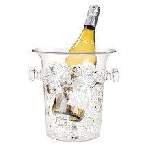 Ice Buckets, Clear Acrylic Durable Large Insulated Vintage Ice Bucket - €22,18 EUR