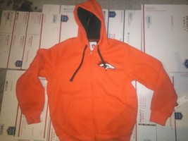 NFL-DENVER Broncos Hooded JACKET- Size LARGE- New With Tags - $37.13
