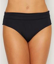 Lepel BLACK Lagoon Fold-Over Bikini Swim Bottom, US 10 - $18.81
