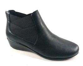 A2 by Aerosoles Above All Black Wedge Ankle Bootie Size 8 - $41.40