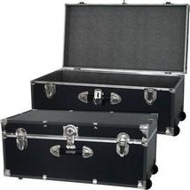 Mercury Luggage Seward Trunk Wheeled Storage Footlocker, 30u0026quot; College  Dor...