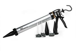 JES Caulk Gun 20 oz. Capacity Barrel Easily Convertible Heavy-Duty Metal - $75.50