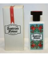 "Vintage Austrian Flower ""RED"" Eau de Cologne Womens In Box Made in Austria - $59.39"