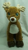 "Build-A-Bear Cute Soft Santa's Reindeer 15"" Plush Stuffed Animal Toy - $24.74"