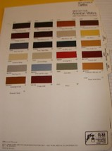 1982 Ford Mercury Thunderbird RM Color Chips NOS - $12.86