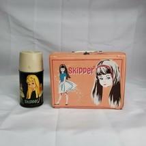 Vintage 1965 Skipper Vinyl Lunch Box Pink (Mattel Barbie & Friends) w/ T... - $169.07