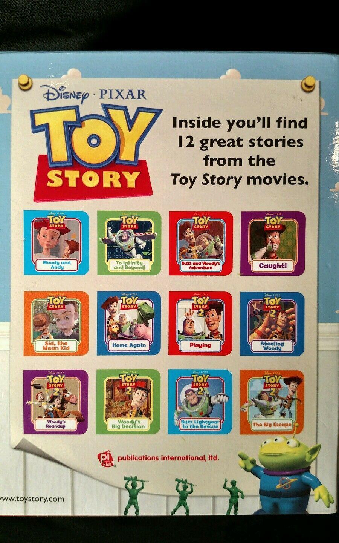 2009 kids Walt Disney Pixar Toy Story Book Block 12 little reading stories case
