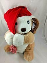 "Russ Jingles Dog Plush Puppy 16"" Hess's Exclusive Christmas Stuffed Animal toy - $24.95"