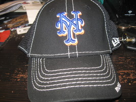 NY METS NEW ERA BLACK YOUTH  HAT EMBRIODED! - $9.99