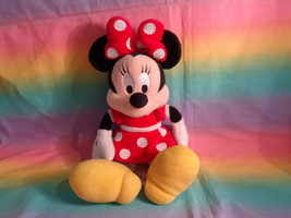 "Disney Parks Authentic Original Minnie Mouse Red Dress Plush Doll 12"" - $10.40"