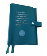 Triple 6th Edition NA Narcotics Anonymous Book Cover Serenity Prayer Green - $37.34