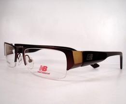 New Balance 391 Brown  Men Eyeglasses Eyewear new Frames Optical - $79.19