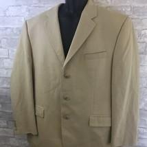 Lauren Ralph Lauren Men's 44R Blazer Beige 3 Button Coat  - $39.59