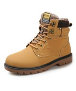 BDF Quality Fashion Men Snow Boot Winter Footwear With Fur Ankle Shoes F... - $56.95
