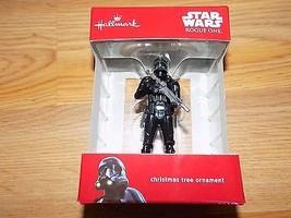 Hallmark Disney Star Wars Black Death Trooper 2... - $17.00