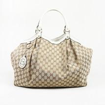 "Gucci Large ""Sukey"" GG Canvas Tote Bag - $735.00"