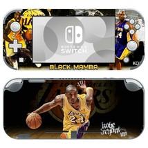 Kobe Bryant NBA Black Mamba Vinyl Skin Decals Stickers for Nintendo Switch Lite - $7.92