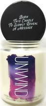 Bath and Body Works Unwind Medium Single Wick Candle  7 oz. - $16.92