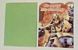 American Greetings Transformers Birthday Card Bumble Bee - $2.94