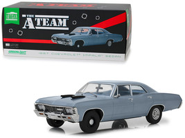 "1967 Chevrolet Impala Sedan Steel Blue ""The A-Team\"" (1983-1987) TV Ser... - $85.78"