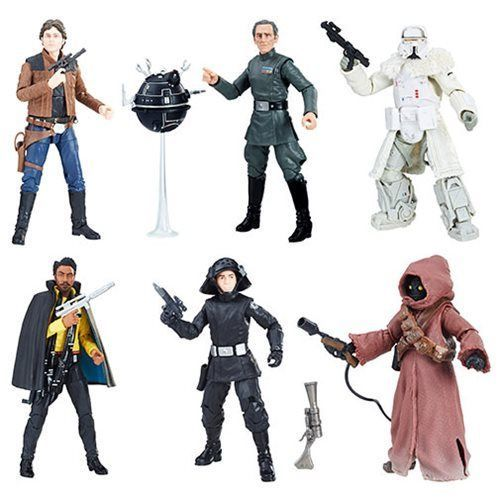 Image 0 of Star Wars The Black Series 6-Inch Action Figure Wave 16 Case, Set of 8, Hasbro