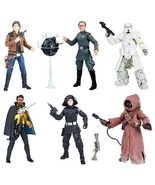 Star Wars The Black Series 6-Inch Action Figure Wave 16 Case, Set of 8, ... - $194.95