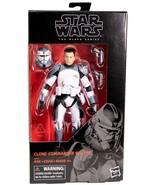 Star Wars Black Series Clone Commander Wolffe exclusive figure Clone Wars - $29.95