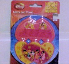 Mirror & Comb Set Disney High School Musical Plastic Childs Toy New - $7.87