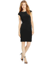 Lauren by Ralph Lauren Women's Sz 10 Embellished Crew Neck Sheath Dress 2948-3 - $39.19
