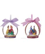 Disney Christmas Glass Ornament Aurora Cinderella Belle Ariel Jasmine Th... - $49.95+