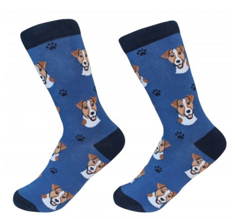 Jack Russell Terrier Socks Unisex Dog Cotton/Poly One size fits most