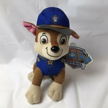 """Paw Patrol Chase Police Officer Plush NEW 8"""" Spin Master Nickelodeon - $14.84"""