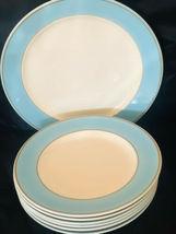 "7 Piece Homer Laughlin 1-12"" Plate Platter and 6-10"" Plates - $45.30"