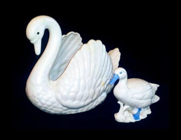 Ceramic Swan & Companion AB 450 Vintage