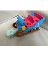 FISHER PRICE LITTLE PEOPLE FROZEN KRISTOFF'S SLEIGH -only clean working ... - $15.82
