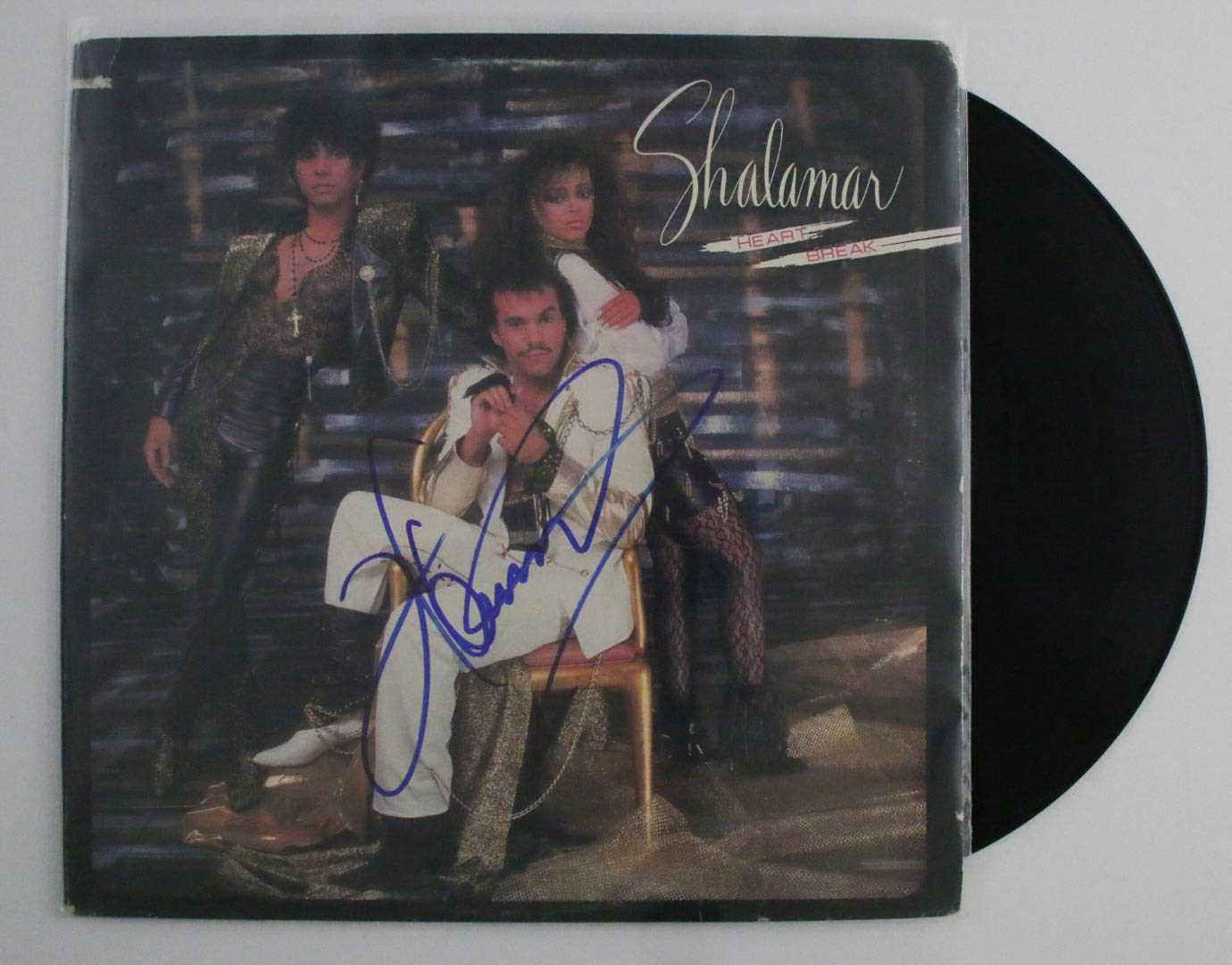 "Primary image for Howard Hewett Signed Autographed ""Shalamar"" Record Album"
