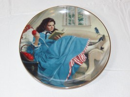 Jo by Elaine Gignilliat Little Women Danbury Mint Collector Plate ~ image 1