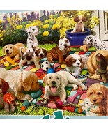 Buffalo Games Cucciolo Parco Giochi Grande Formato 300 Pezzi Puzzle Comp... - $6.76