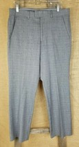 Express Producer women 32/30 career pants plaid gray - $14.85