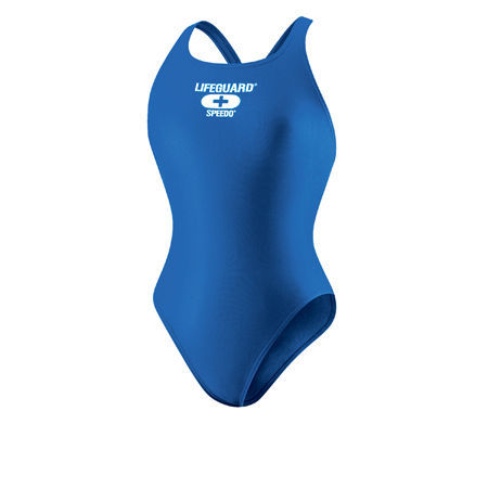 Primary image for NEW SPEEDO SUPER PRO BACK SWIMSUIT 6/32 LIFEGUARD BLUE SAPPHIRE NWT 7190432