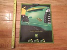 John Deere LT LTR LX series Lawn Tractor tractors Vintage Dealer sales brochure - $14.99