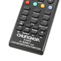 New CHUNGHOP E-S916 Universal Remote Control For Sony LCD LED HDTV - $7.88