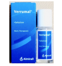 VERRUMAL SOLUTION 13ML For Warts Therapeutic Free Shipping - $39.90