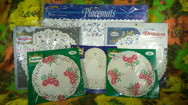 Lovely Vintage 6pc Collection of Roylcraft, Royal Lace & Roylie Paper Do... - $16.00