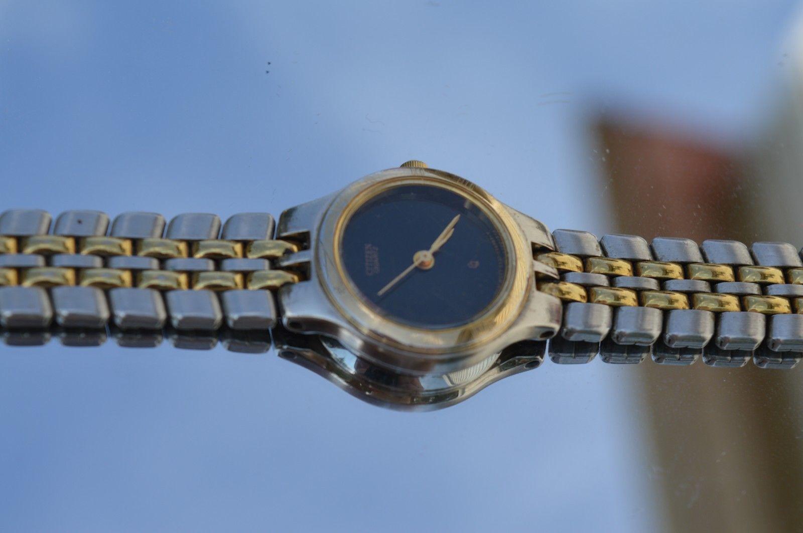 Vtg CITIZEN'' GN-0-S womens quartz watch  Runs great
