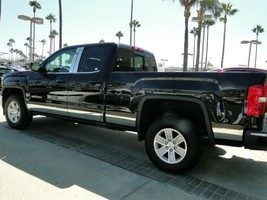 "14-18 GMC Sierra Crew Cab 6.8' Bed Stainless Steel Rocker Panel Trim 8"" ... - $199.99"