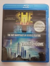 Ray Harryhausen: She & Things to Come [Blu-ray] + The Most Dangerous Game [DVD] image 1